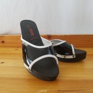 Miu Miu Shoes Black